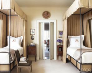 bedroom traditional by Suzanne Rheinstein