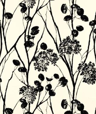 Moonpennies%0ABlack & Ivory by schumacher