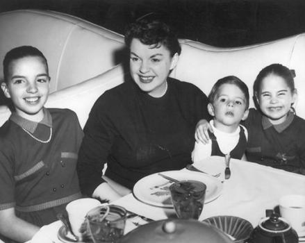 Judy Garland at the pump room