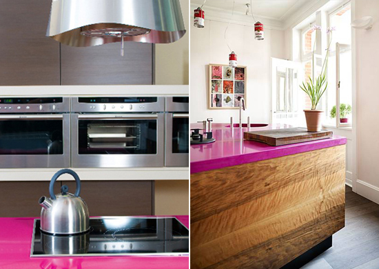 Pink-Kitchen-Counters