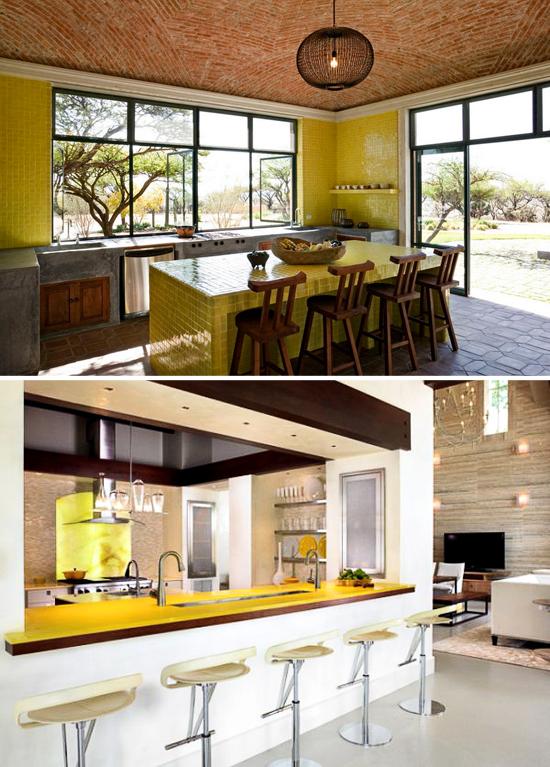 Yellow-Color-Countertop