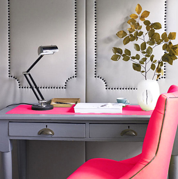 from the decoist neon-pink-office-decor2