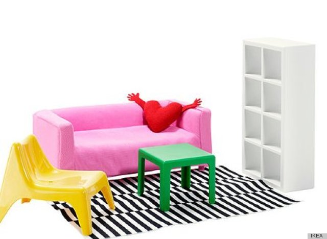 really?! Ikea sells doll furniture>