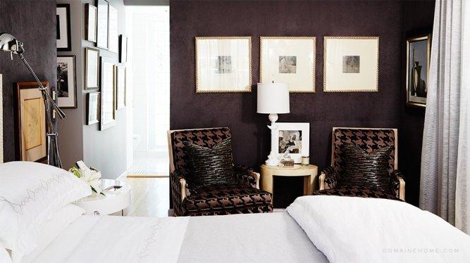 Antiques dealer Patrick Dragonette and interior designer Charles Tucker via Domaine Home