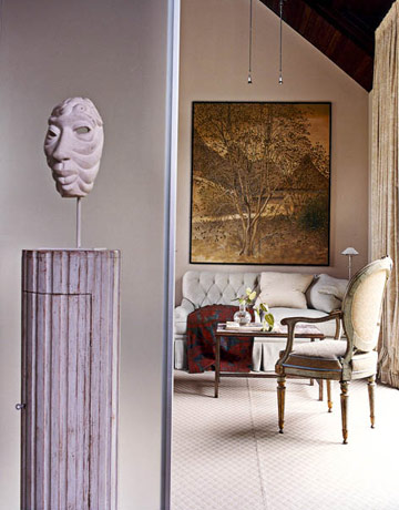 Bilhuber Sculpture in House Beautiful