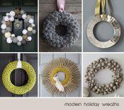 Modern DIY Wreaths