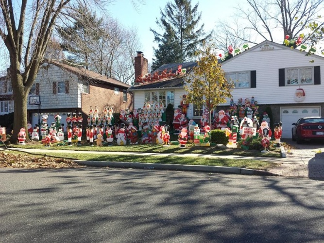 Horrible Christmas Lights by Tiffany Brooks
