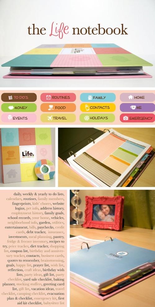 DIY Life Planners by Kelly Bangs Creative