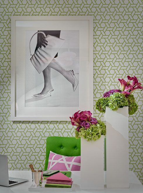 by Ana Corderio Have fun with guest room:Office Walls