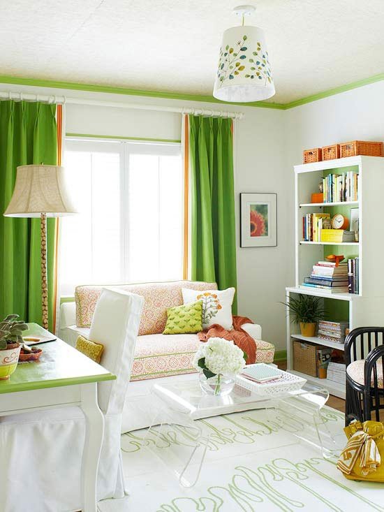 Guest room : office space fun, light hearted and functional the entire year