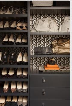 wallpaper closet
