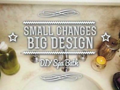 DIY Spa Bath