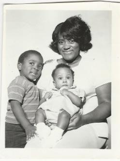 My Mom, big brother, and sis.