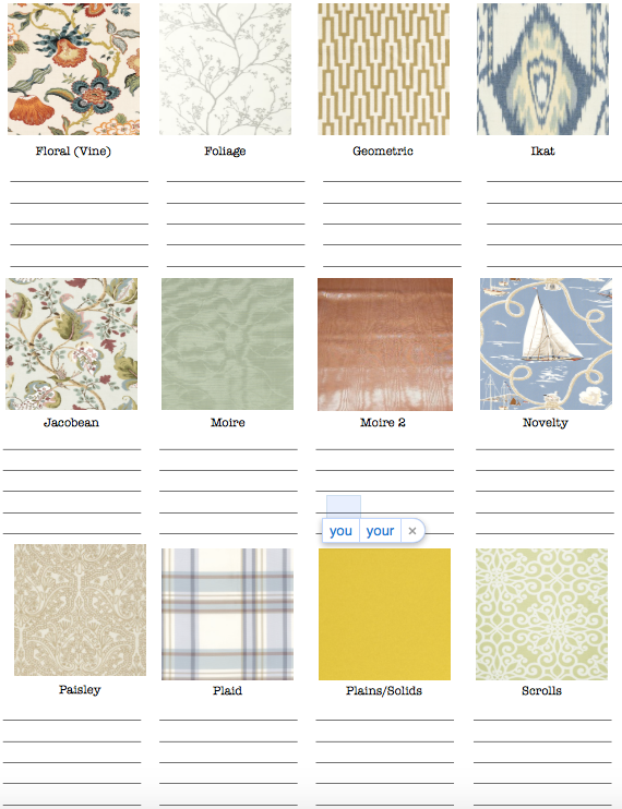 PATTERN GUIDES BY TIFFANY BROOKS - IF YOU PLAN ON STEALING THIS GUIDE, GIVE ME SOME CREDIT WITH A LINK BACK TO THE BLOG.